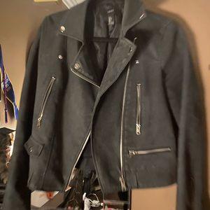 Black matte jacket size large